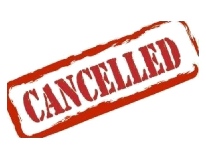 All Events Are Canceled through May 5